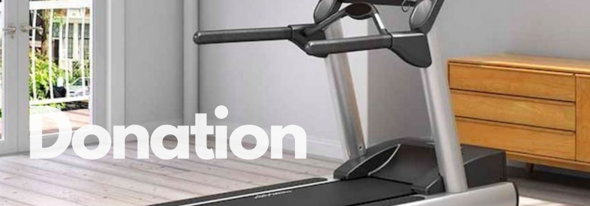 Treadmill Donation
